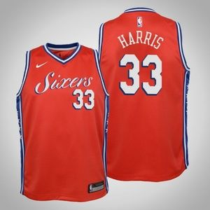 Youth Philadelphia 76ers Tobias Harris Jersey